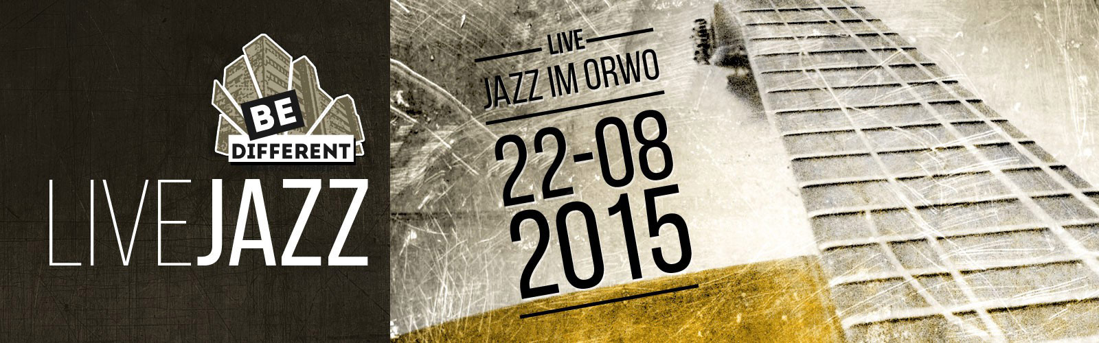 Be Different! – Live-Jazz