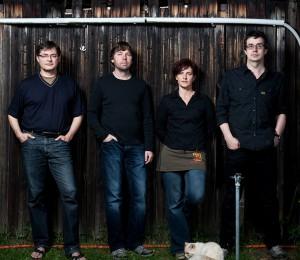 Die Band UNBEKANNT VERZOGEN aus Berlin