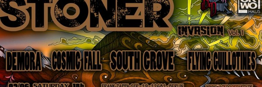 Backdoor Party (Jun 9 | 4 Bands) – Stoner Invasion Party Vol. 1
