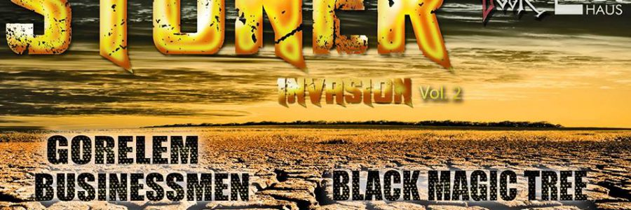 ORWOhaus präsentiert: Backdoor Party – Stoner Invasion Vol. 2 (12. Jan | 5 Bands)
