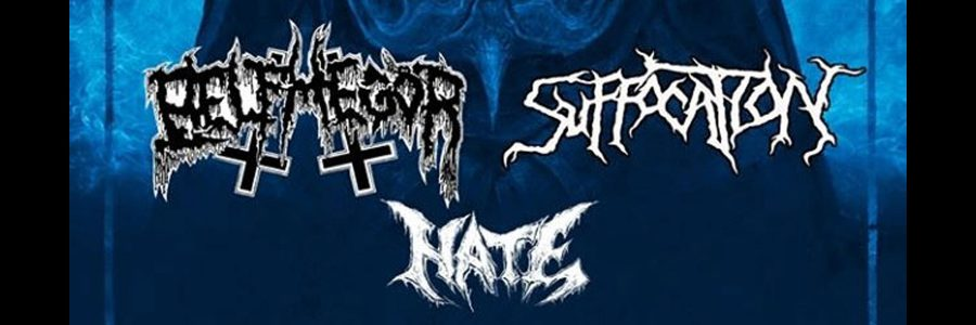 Suffocation | Belphegor | Hate