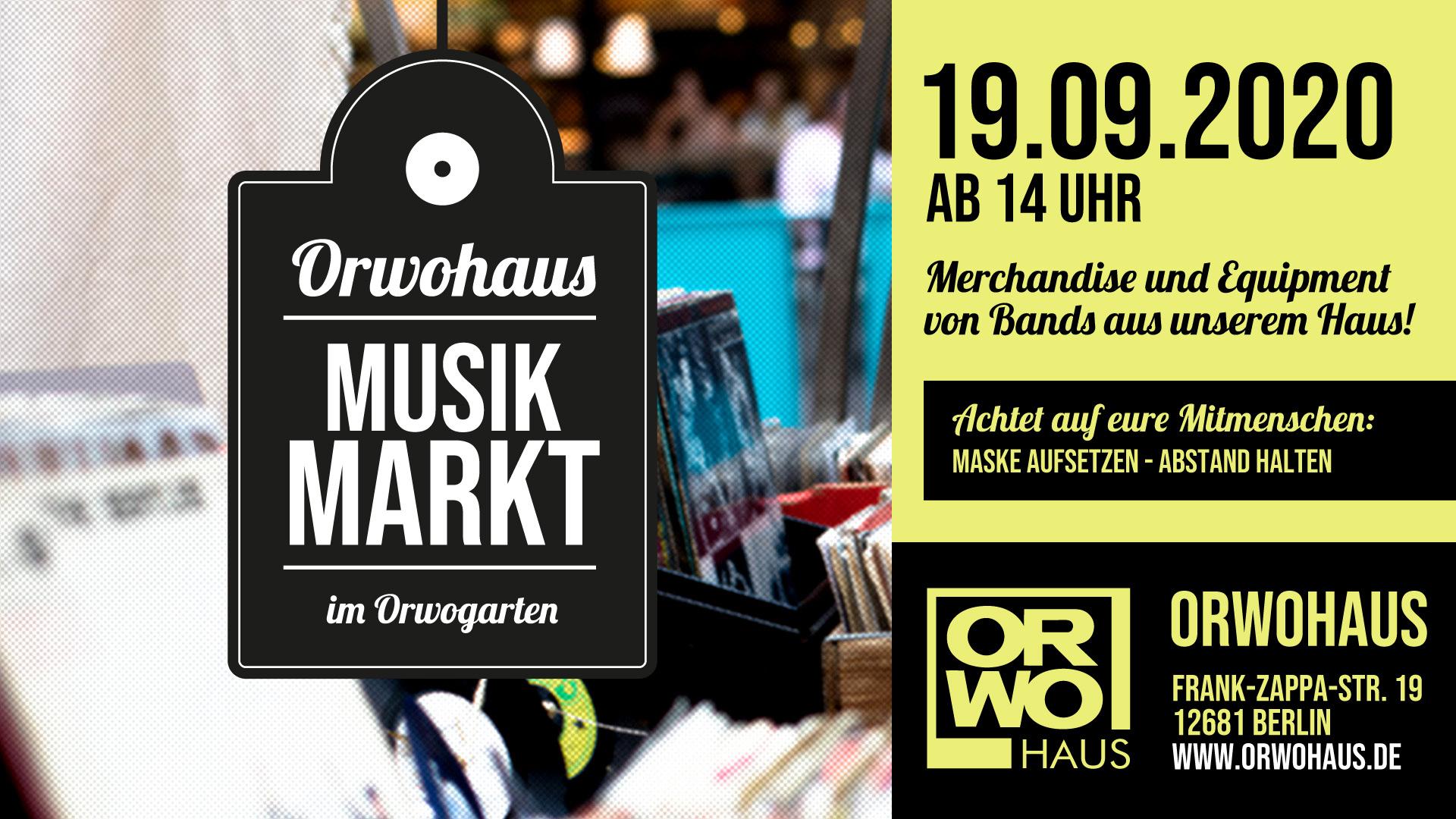 Flohmarkt und Merchmarkt für Musik
